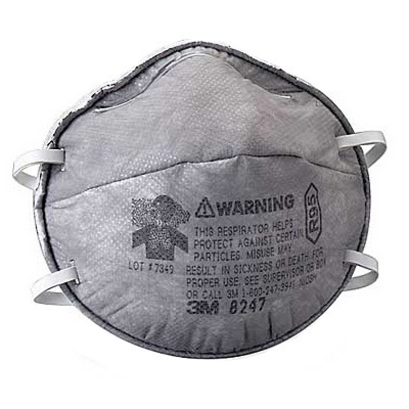 With Particulate R95 Level 3m™ Nuisance Respirator 8247 Organic