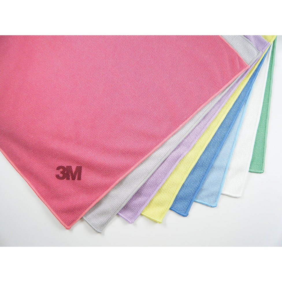 Microfiber Cloth Examples: 3M Scotch-Brite Microfiber High Performance Cloth Cleaning